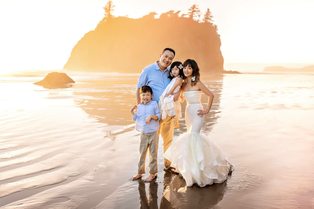 Ruby Beach Washington Family Photographer