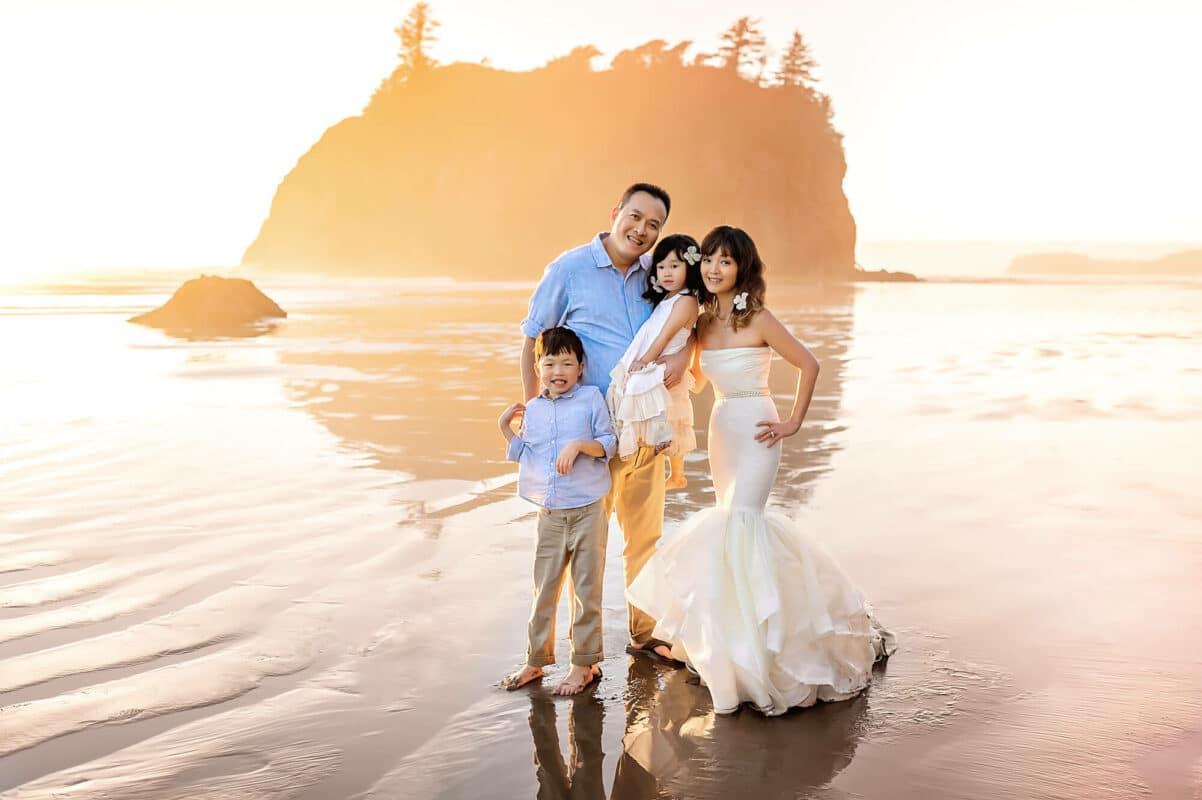 Ruby Beach Washington Family Photographer