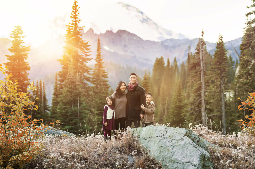 Mt Rainier Family Photographer Eden Bao