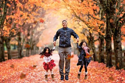Fall Family Photos Seattle Eden Bao