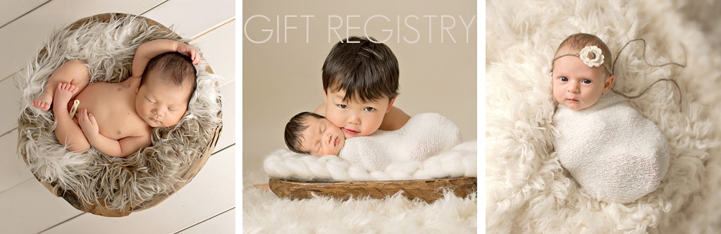 Seattle Newborn Photographer Eden Bao Gift Registry