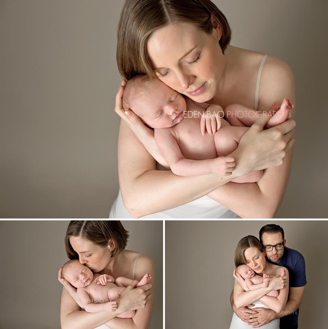 Delta BC Newborn Photographer Eden Bao   Brooklyn with parents
