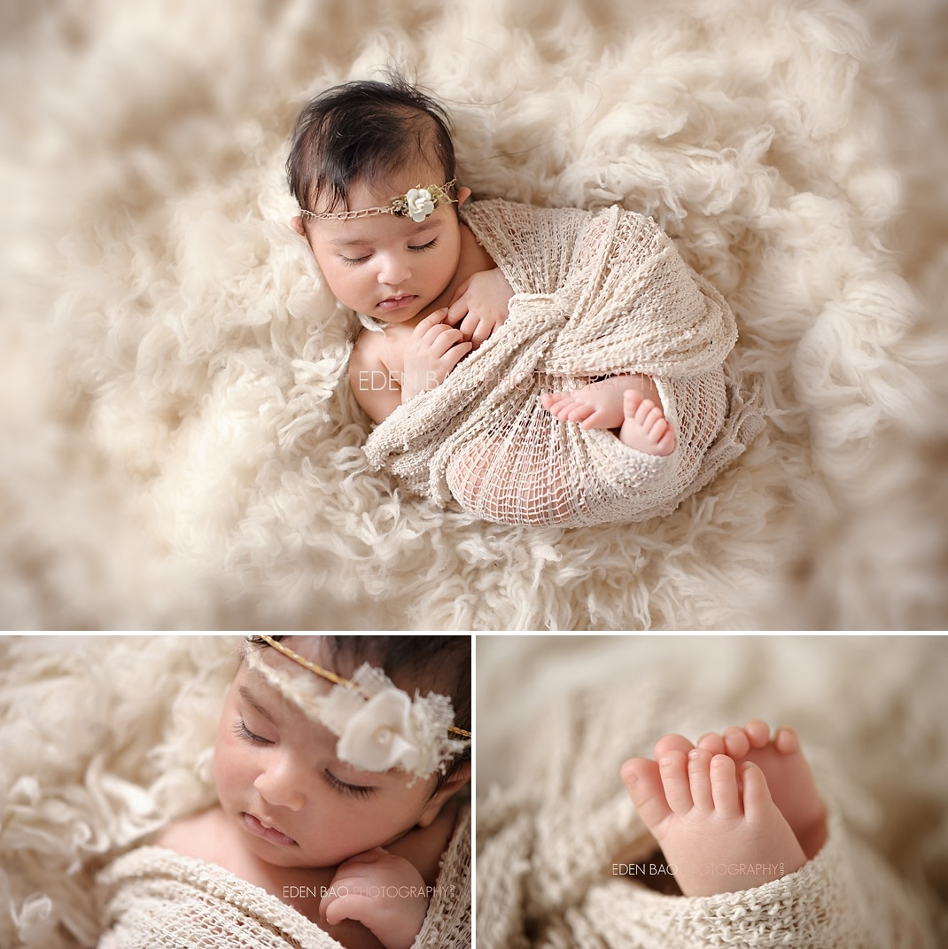 Studio Lighting Newborn Photography: Richmond BC Newborn Photographer Eden Bao