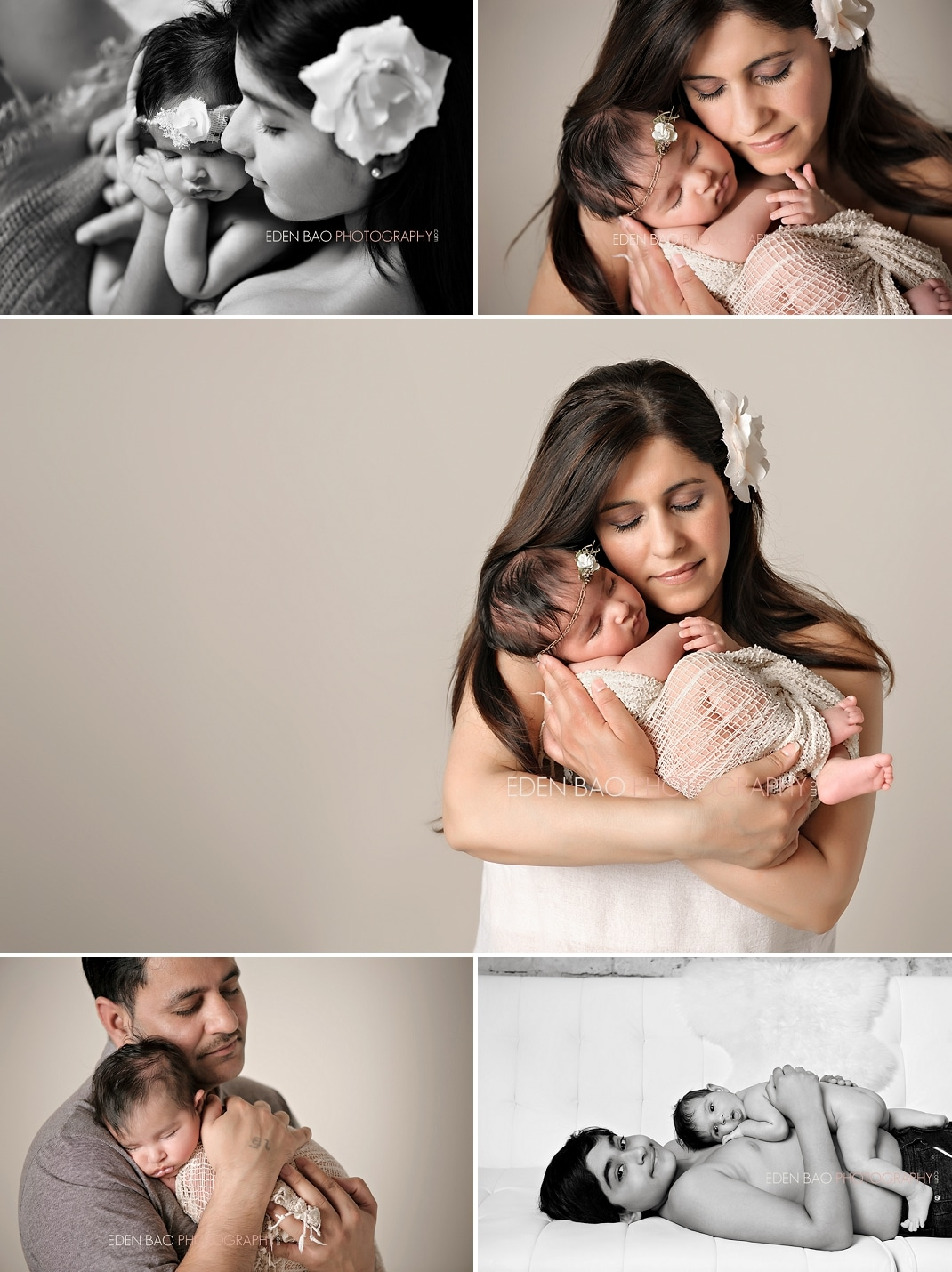 Richmond BC Newborn Photographer Eden Bao | Zara parent baby siblings