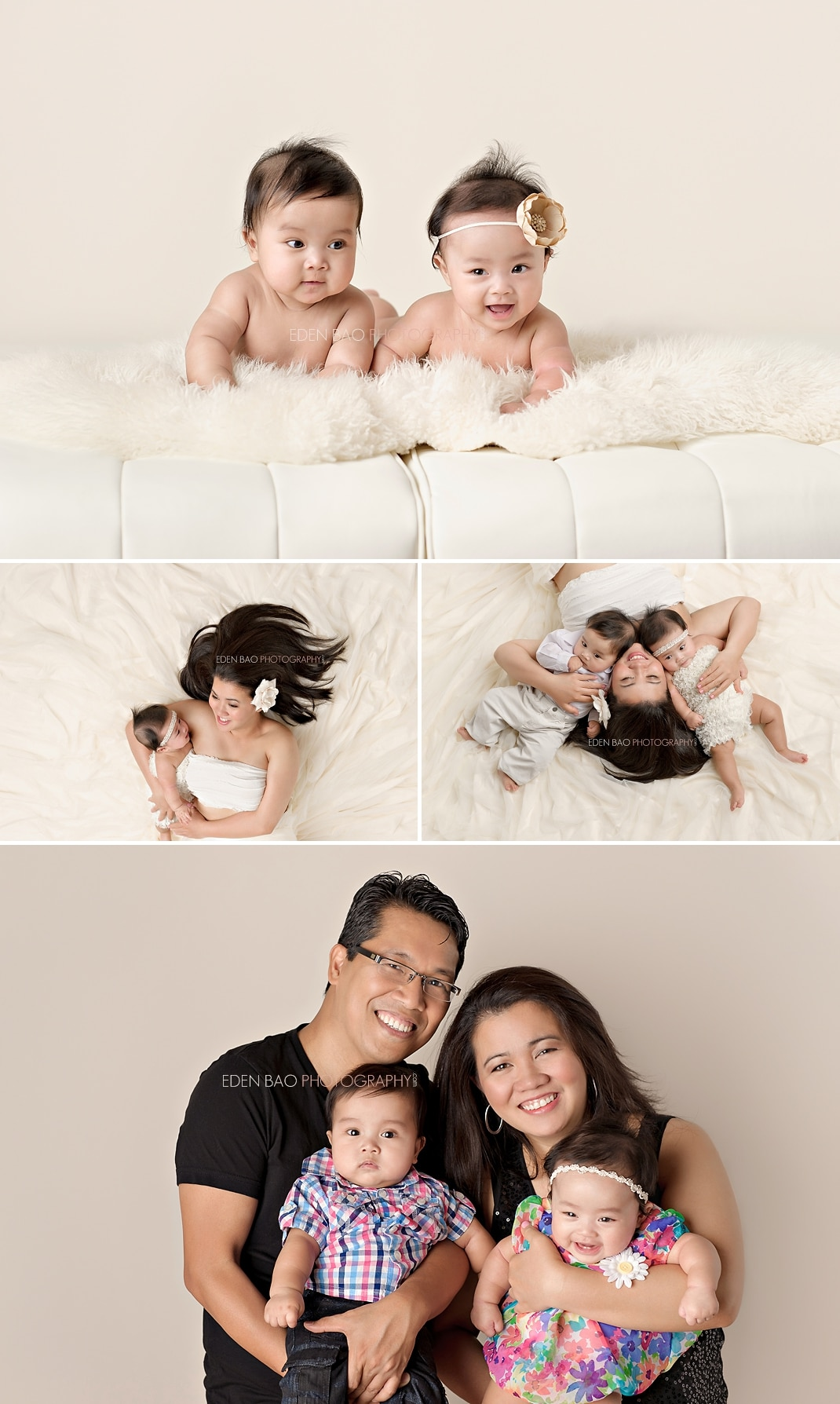 New Westminster Vancouver BC Twin Baby Photographer family