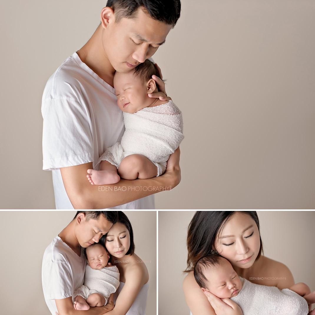 West Vancouver BC Newborn Photographer parent baby family