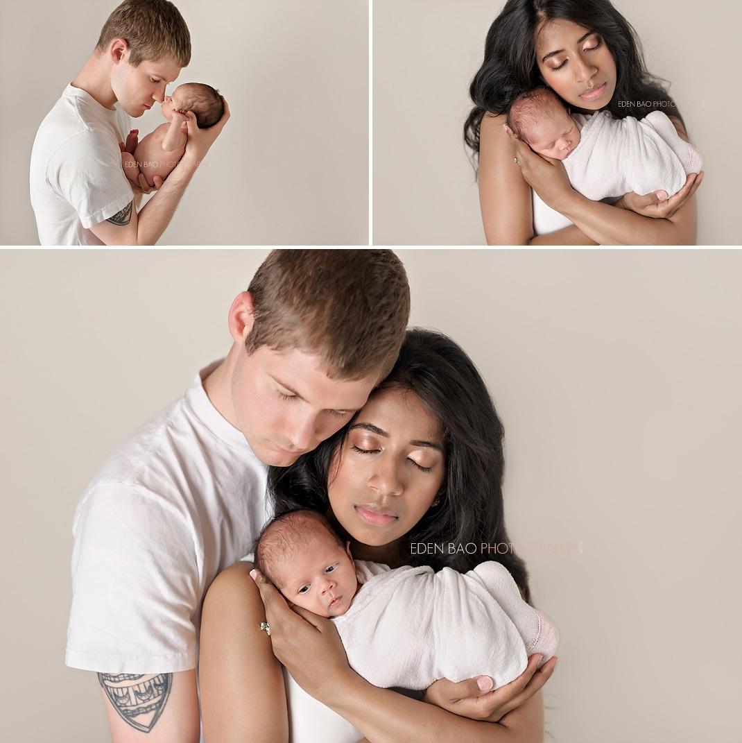 Burnaby BC Newborn Photographer Eden Bao parent baby family