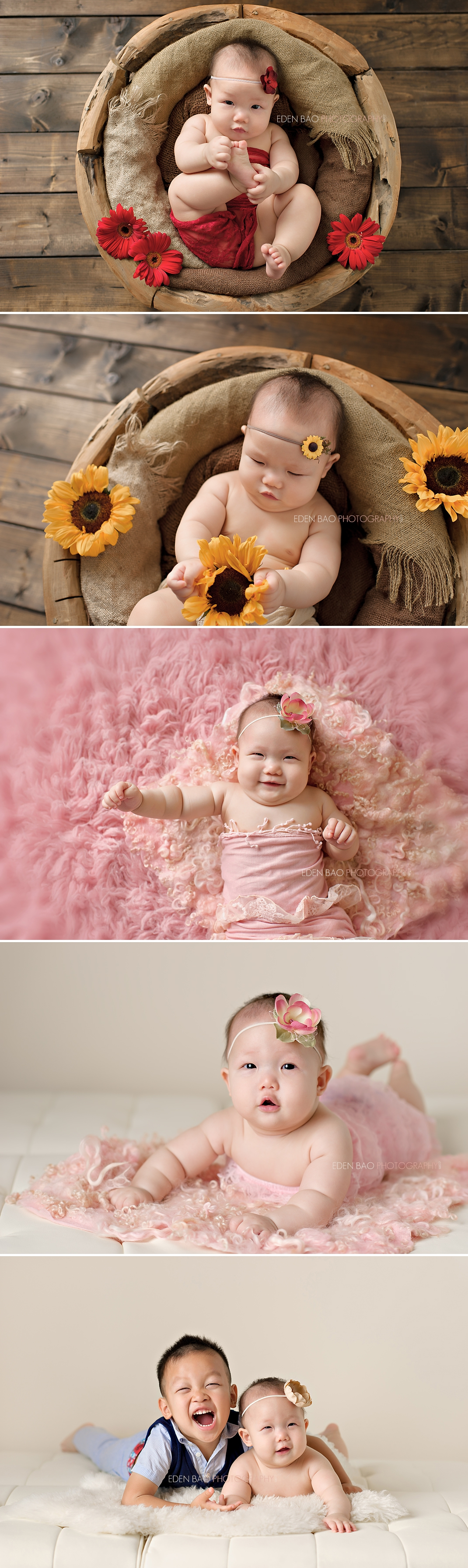 Vancouver BC Baby Photographer Lisah 6 months