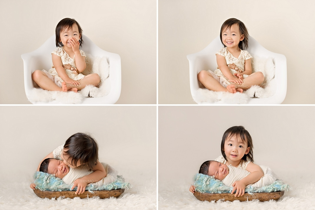 Vancouver BC Newborn Photographer Sibling