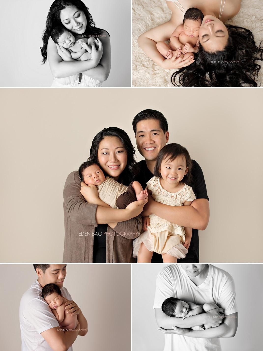 Vancouver BC Newborn Photographer parent newborn family