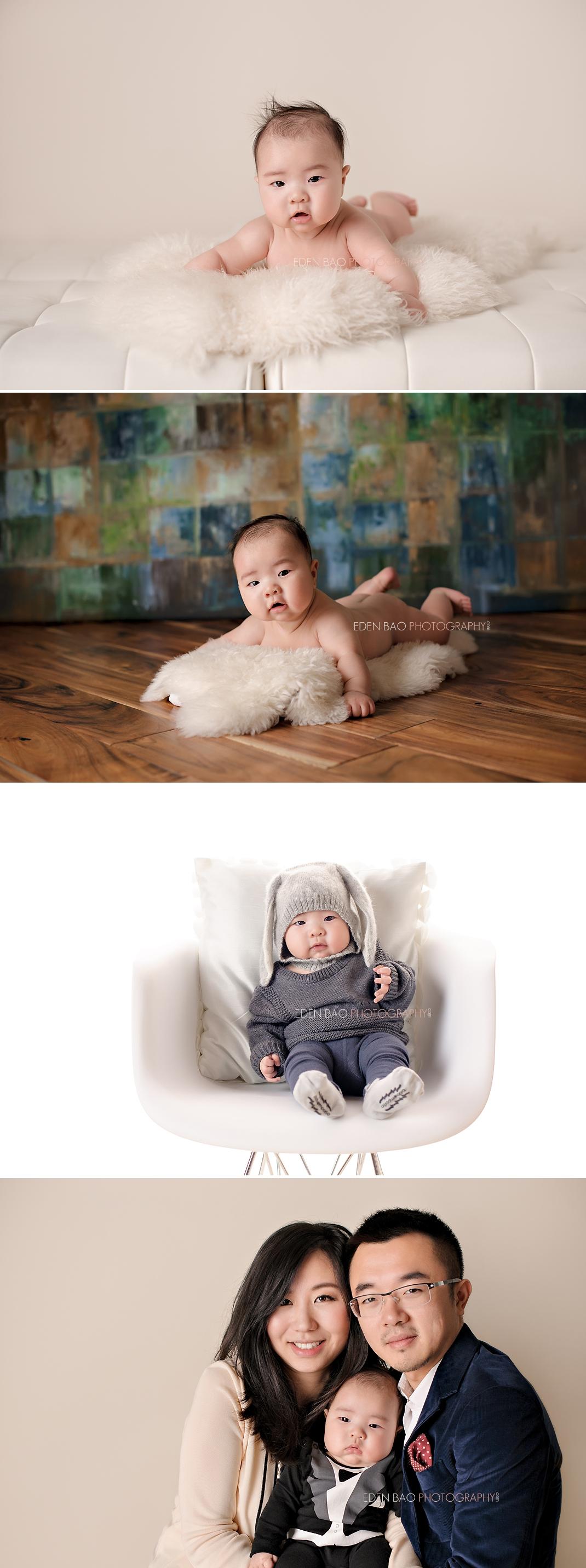 Seattle WA Baby Photographer 100-days