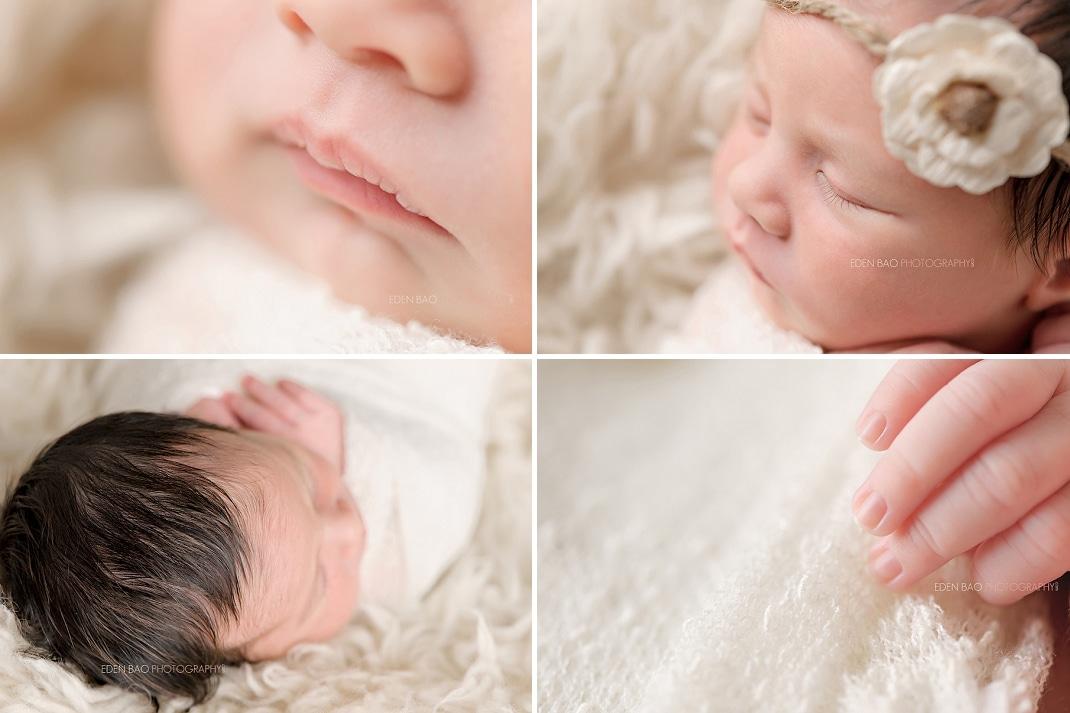 Seattle WA Newborn Photographer macros