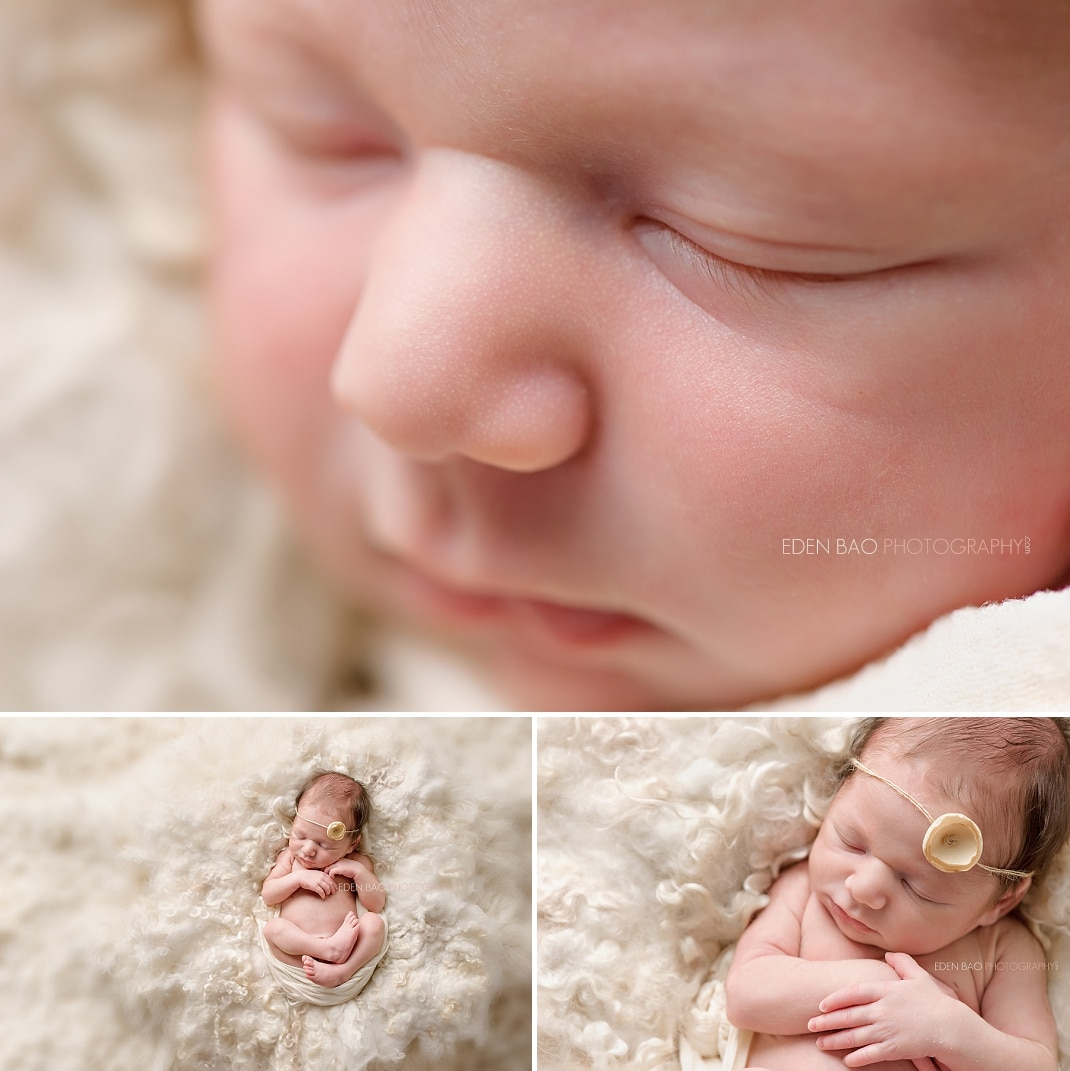 Seattle Newborn Photographer macros