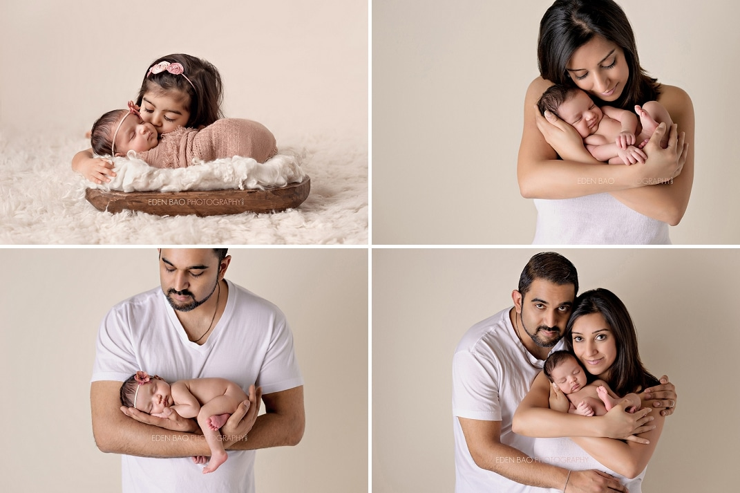 Seattle Newborn Photographer parent baby sibling