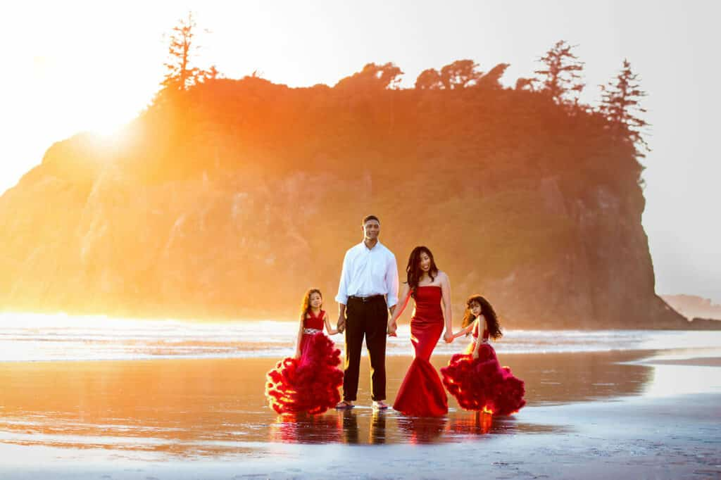 Family Photos Ruby Beach Photographer Eden Bao