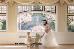 Elegant Maternity Cecil Green Vintage Baby Carriage Eden Bao
