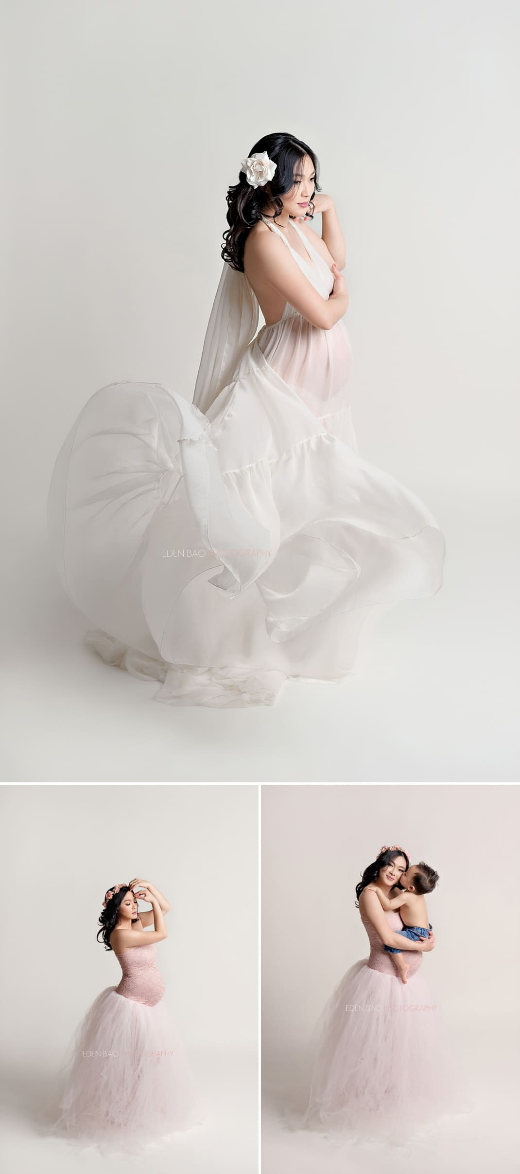 Maternity Photographer Seattle Area beautiful gowns