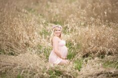 Grassy Fields Maternity Eden Bao