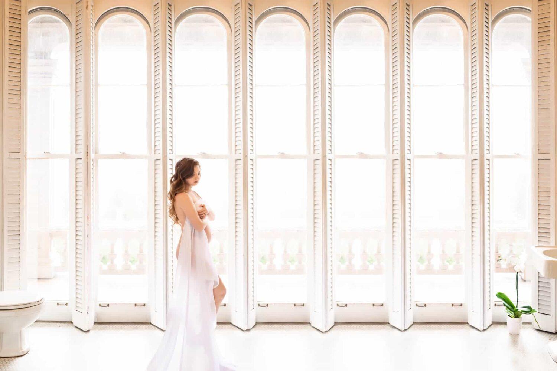 White Windows White Room Maple Valley Maternity Photographer Eden Bao
