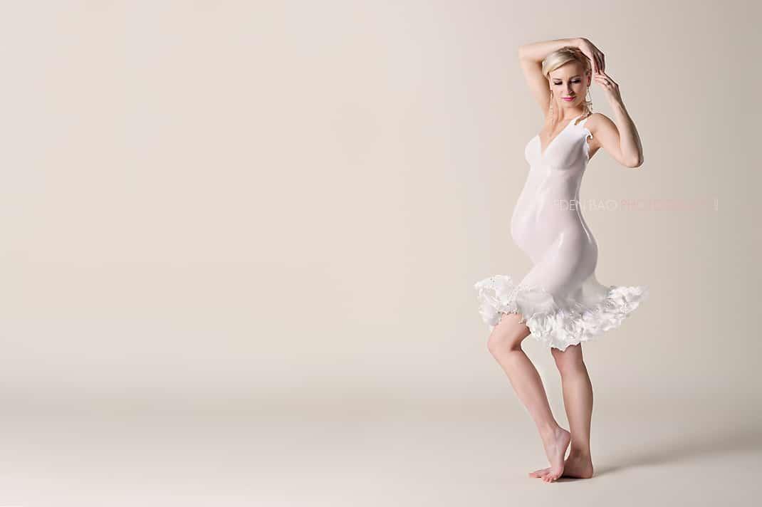 Maternity Milk Dress Seattle Eden Bao 1