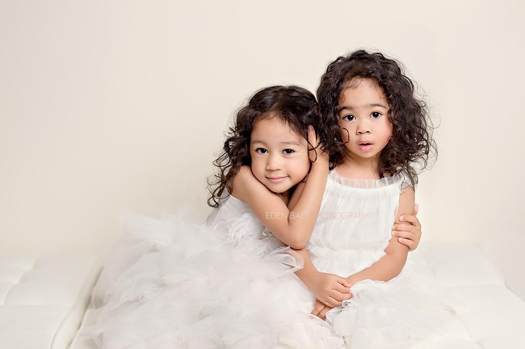 Seattle Child Photographer Eden Bao daughters