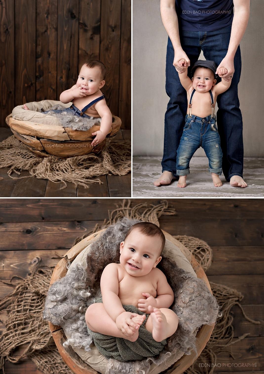 Baby Photographer Seattle wood bowl 2