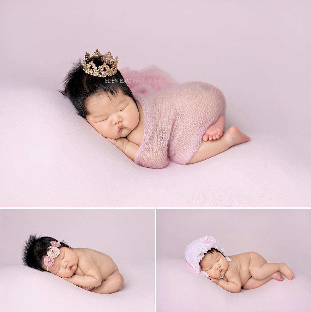 Newborn Photographer Bothell soft pink