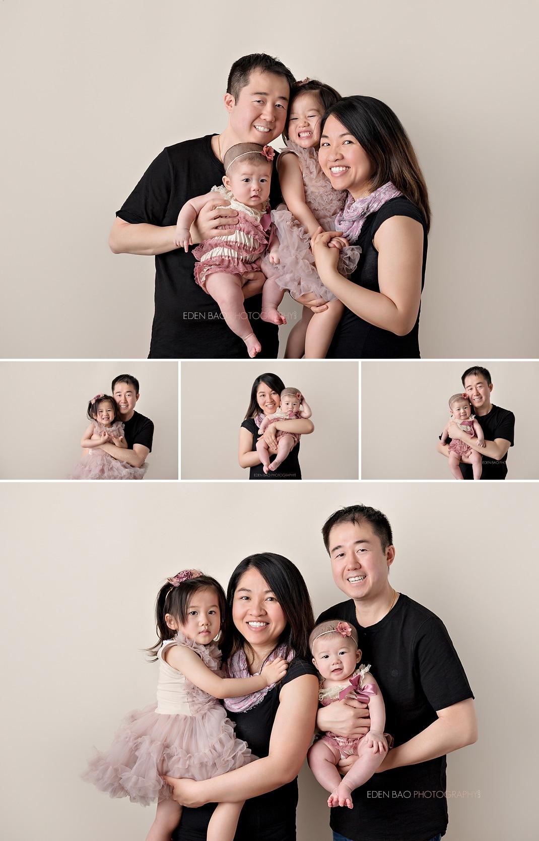100 days Baby Photographer Monroe family