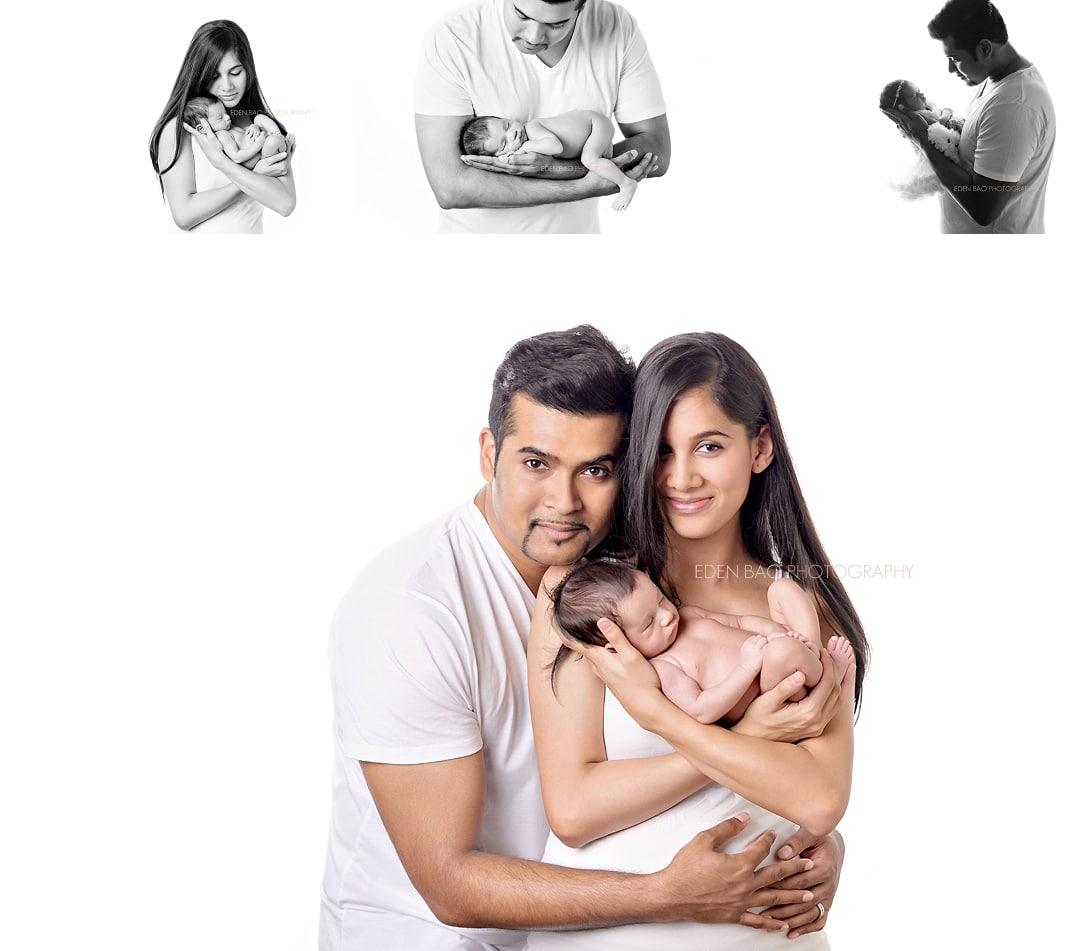 Kirkland WA Newborn Photographer family parent baby