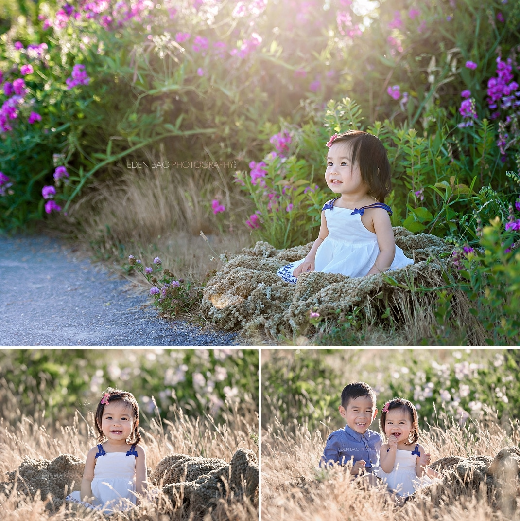 Mill Creek Baby Photographer outdoors