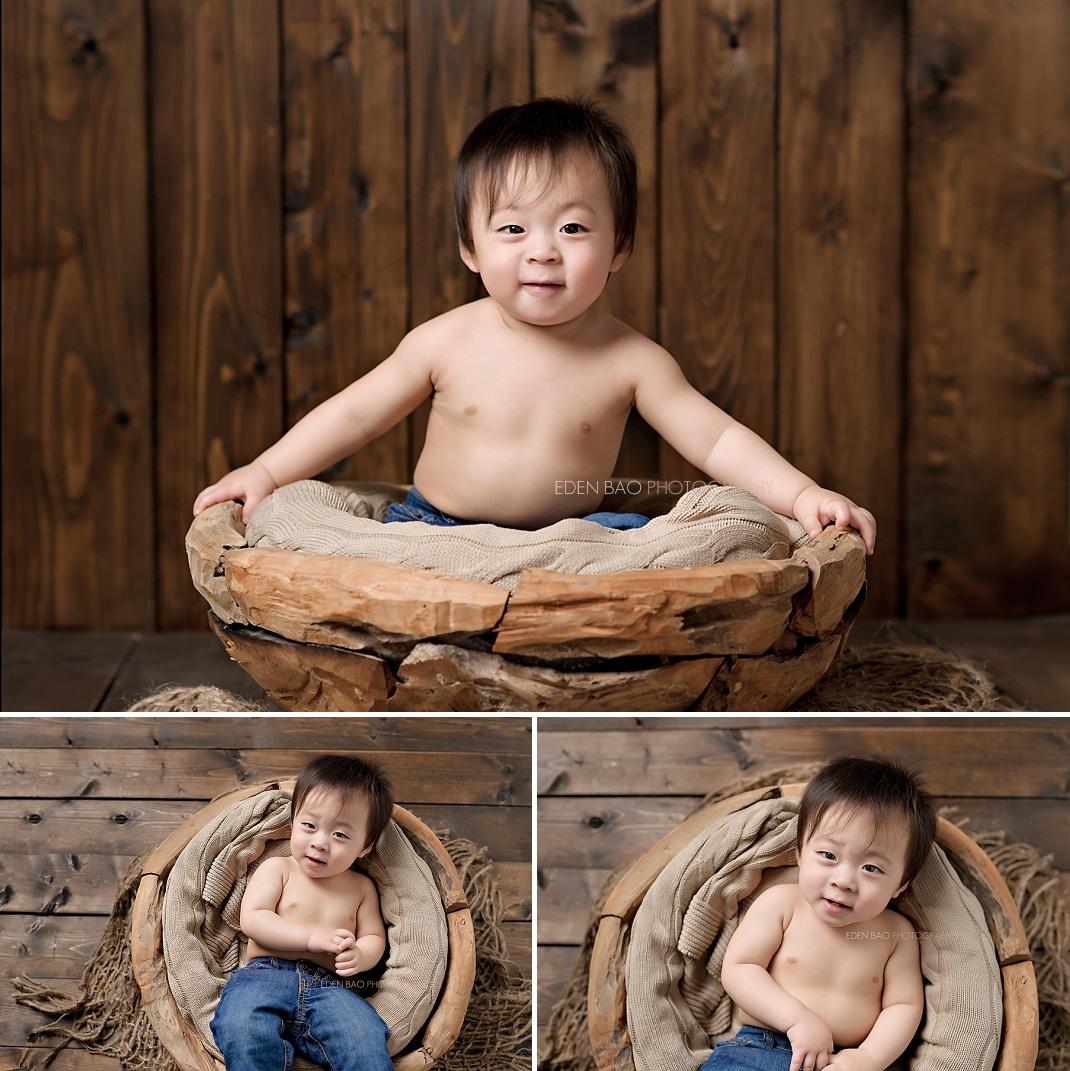 1 year baby portrait Seattle
