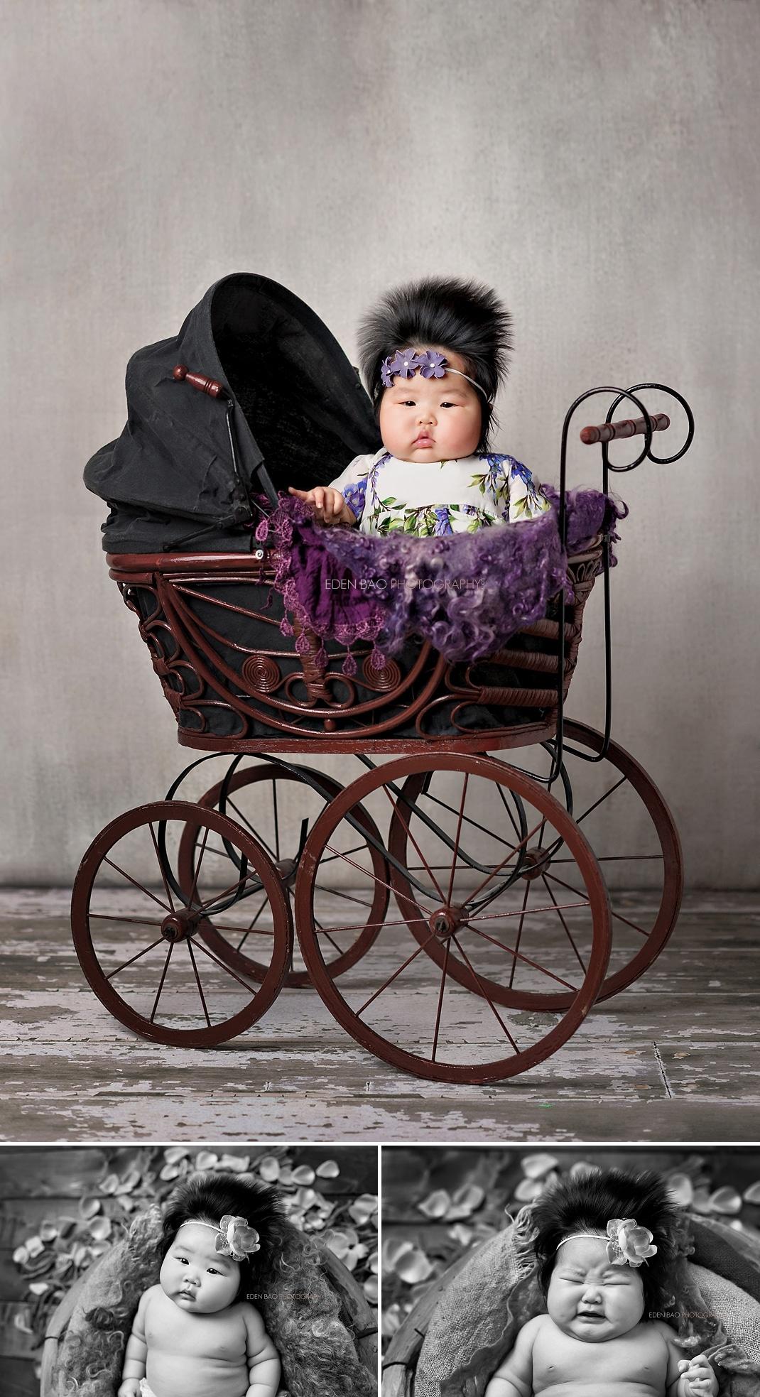 Baby 100-days Photos Seattle Cynthia