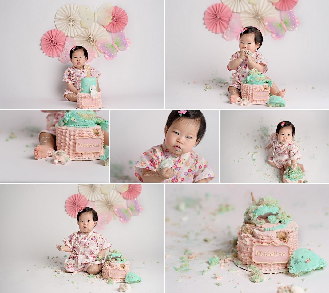 Redmond Baby Photographer cake smash