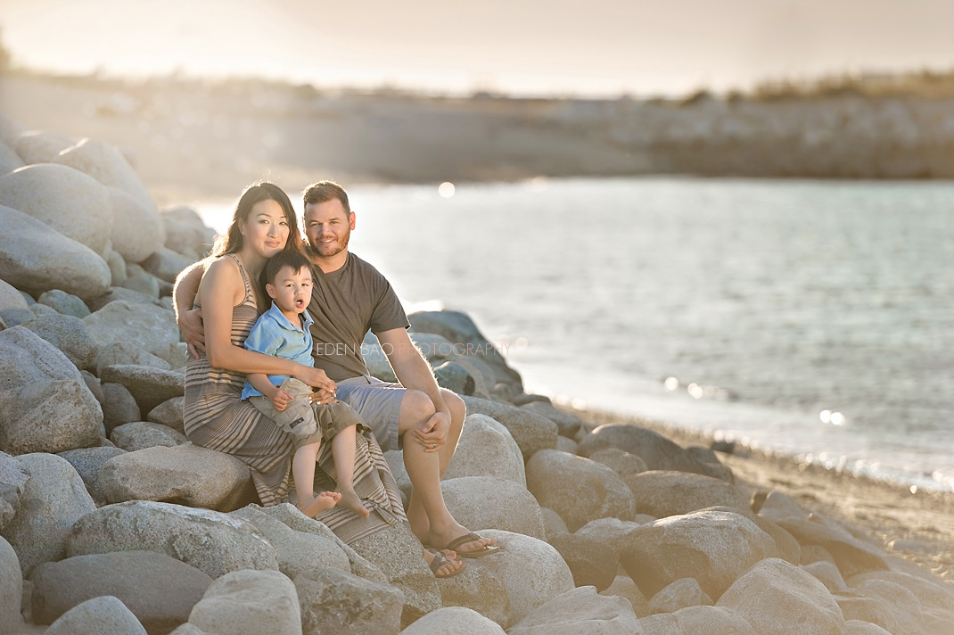 Seattle Family Photographer Eden Bao Beach Session