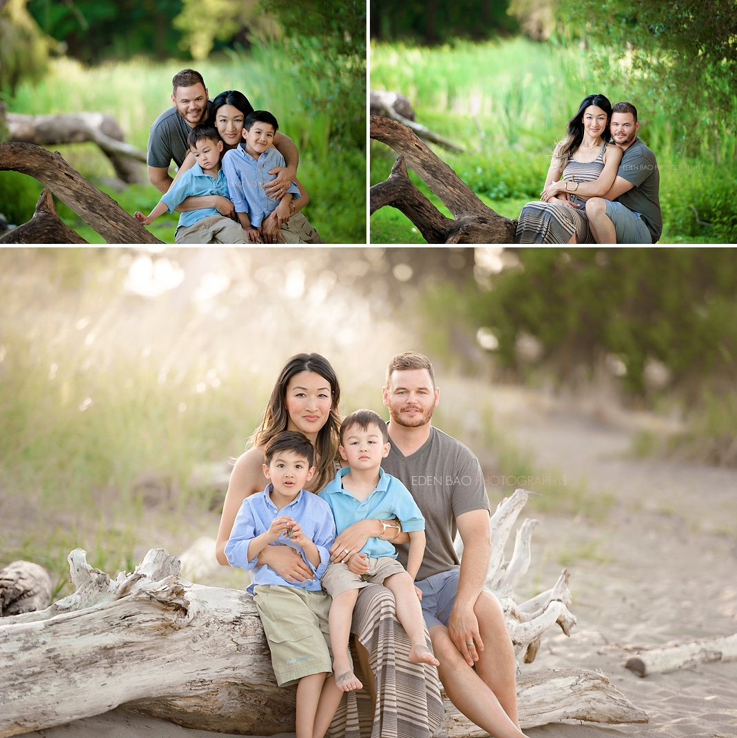 Seattle family photographer Eden Bao Beach