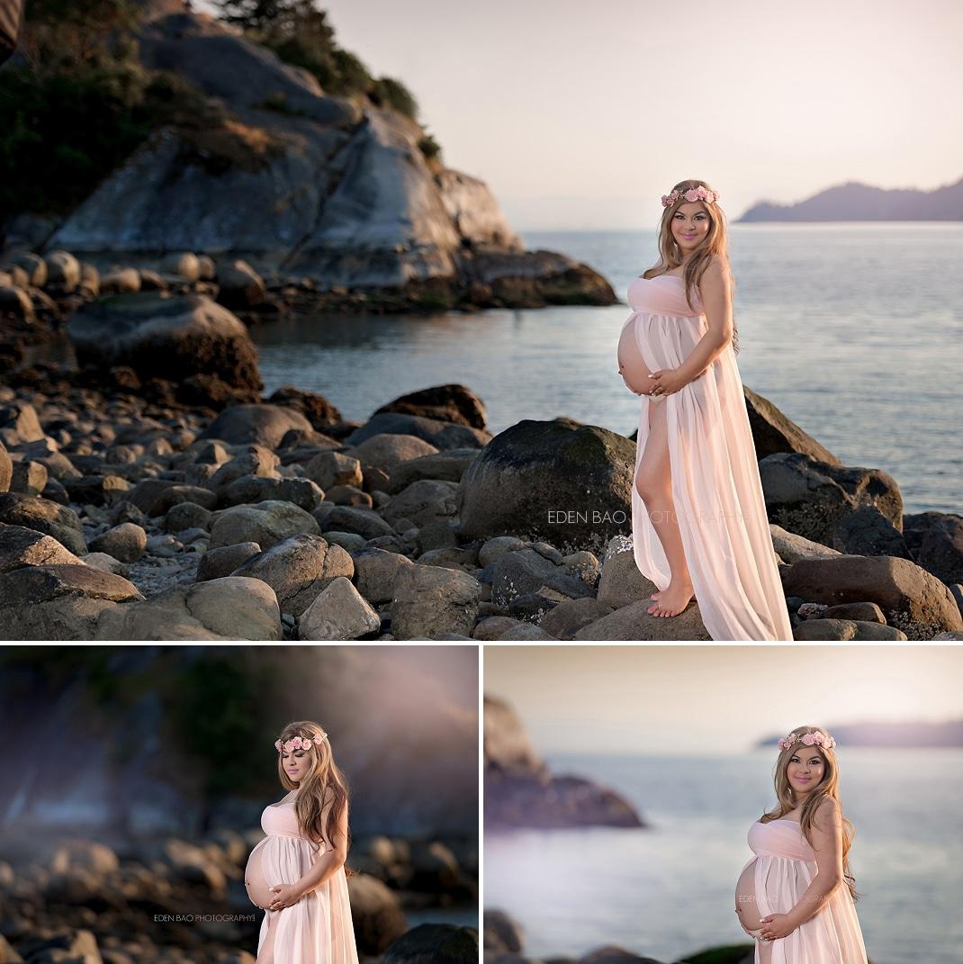 Bellevue maternity photographer Eden Bao Whyte Cliff Park