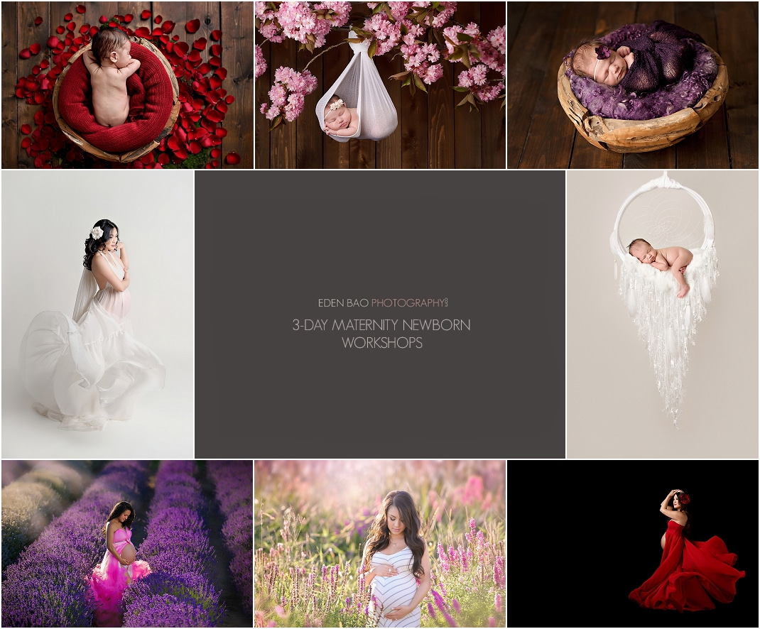 Maternity newborn photography workshops