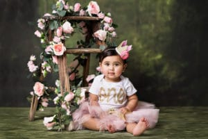 Kirkland baby photographer cake smash