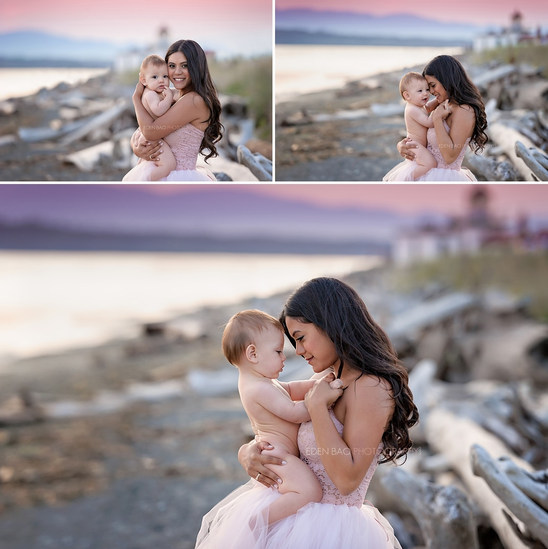 Lynnwood Baby Photographer Discovery Park 2
