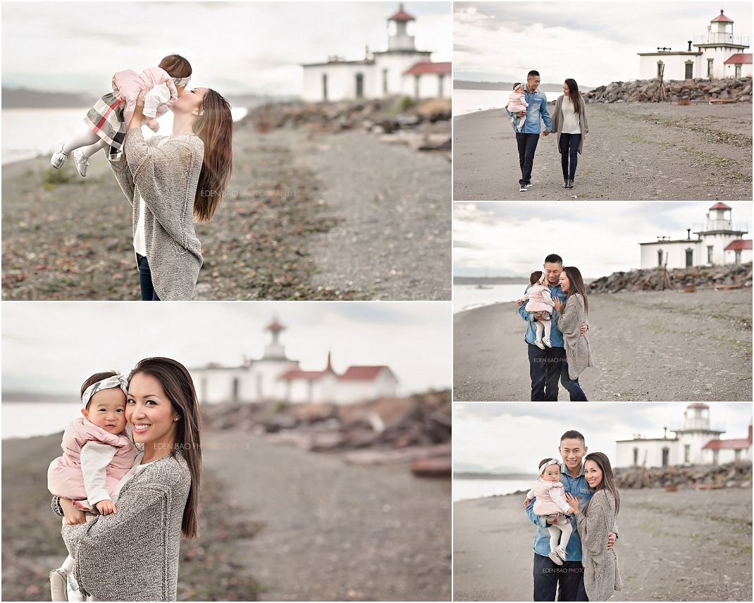 Bothell Baby Photographer Discovery Park Lighthouse 2A
