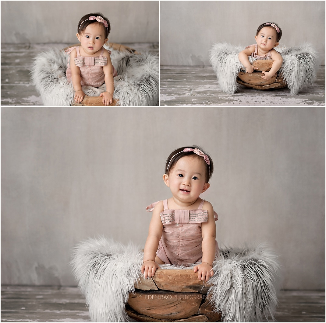 Bothell Baby Photographer wood bowl