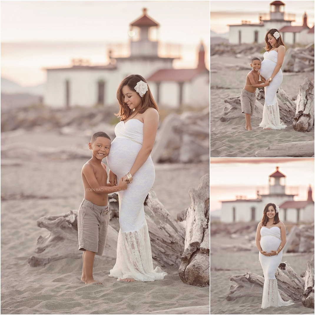 Bothell Maternity Photographer Discovery Park