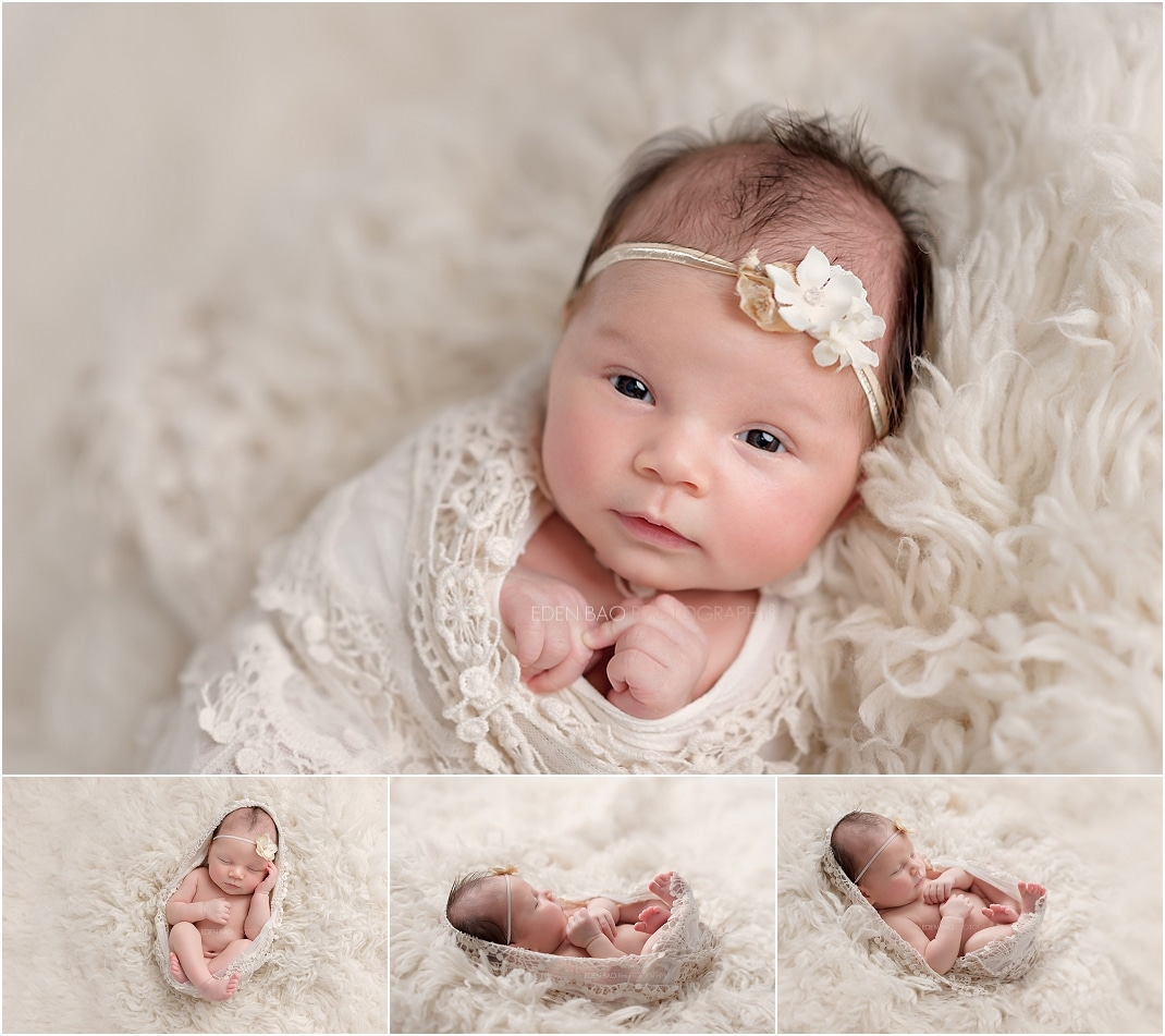 Newborn Photographer Northwest Seattle awake shot