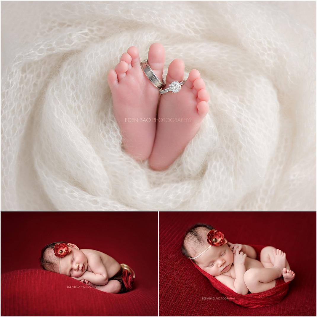 Newborn Photographer Northwest Seattle baby feet