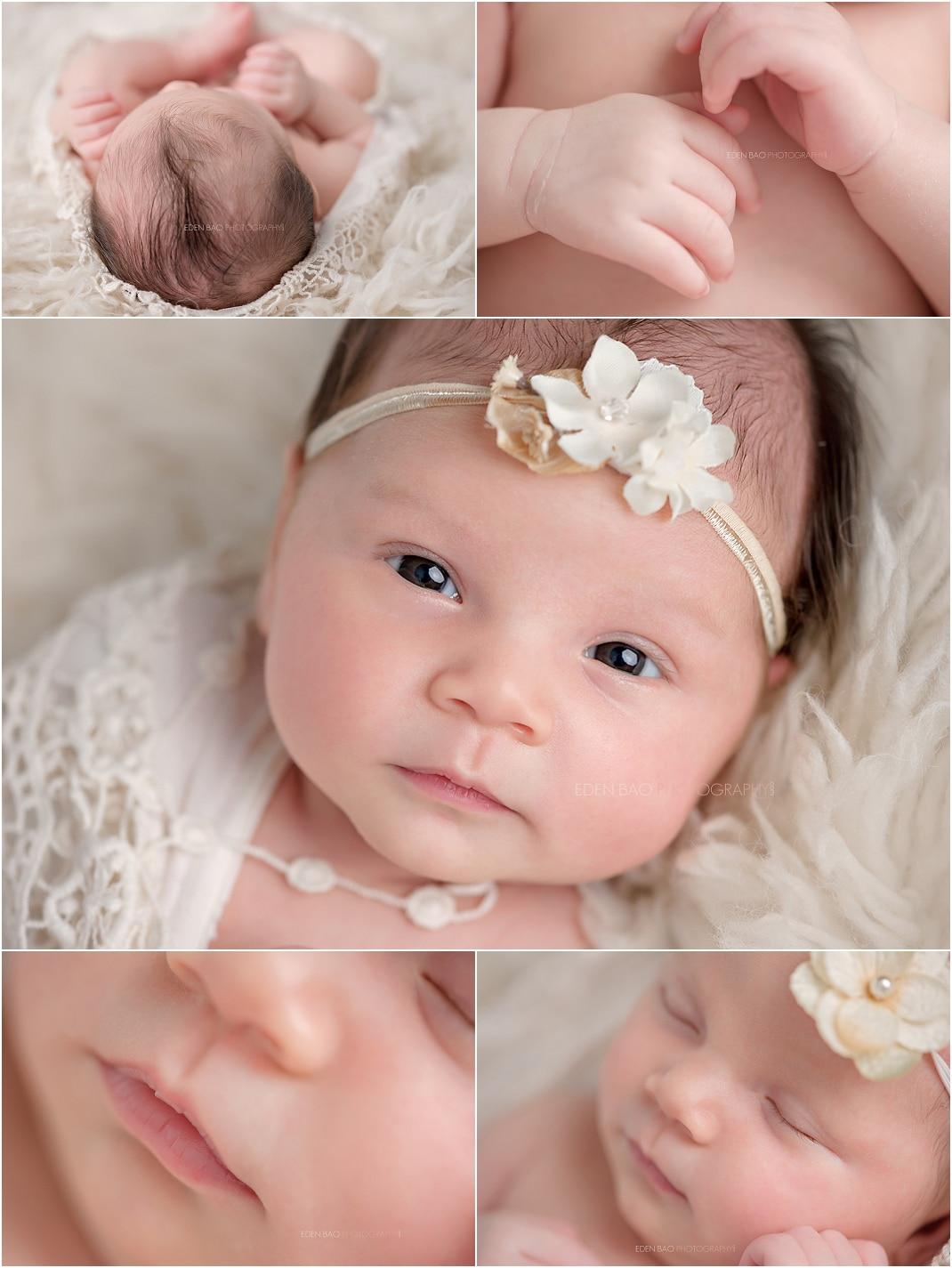 Newborn Photographer Northwest Seattle detail shots