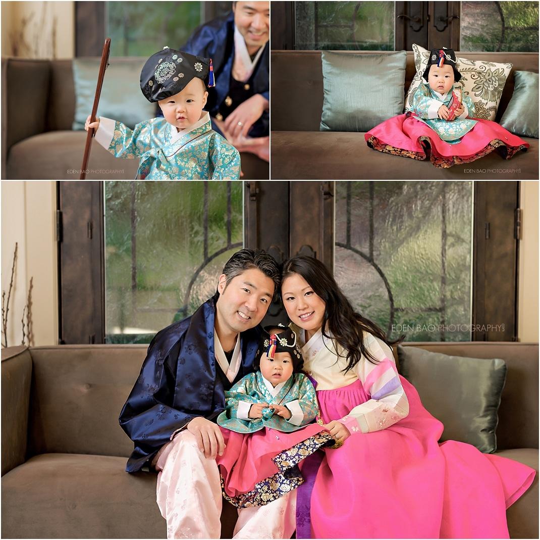 Kirkland baby photographer formal family at home