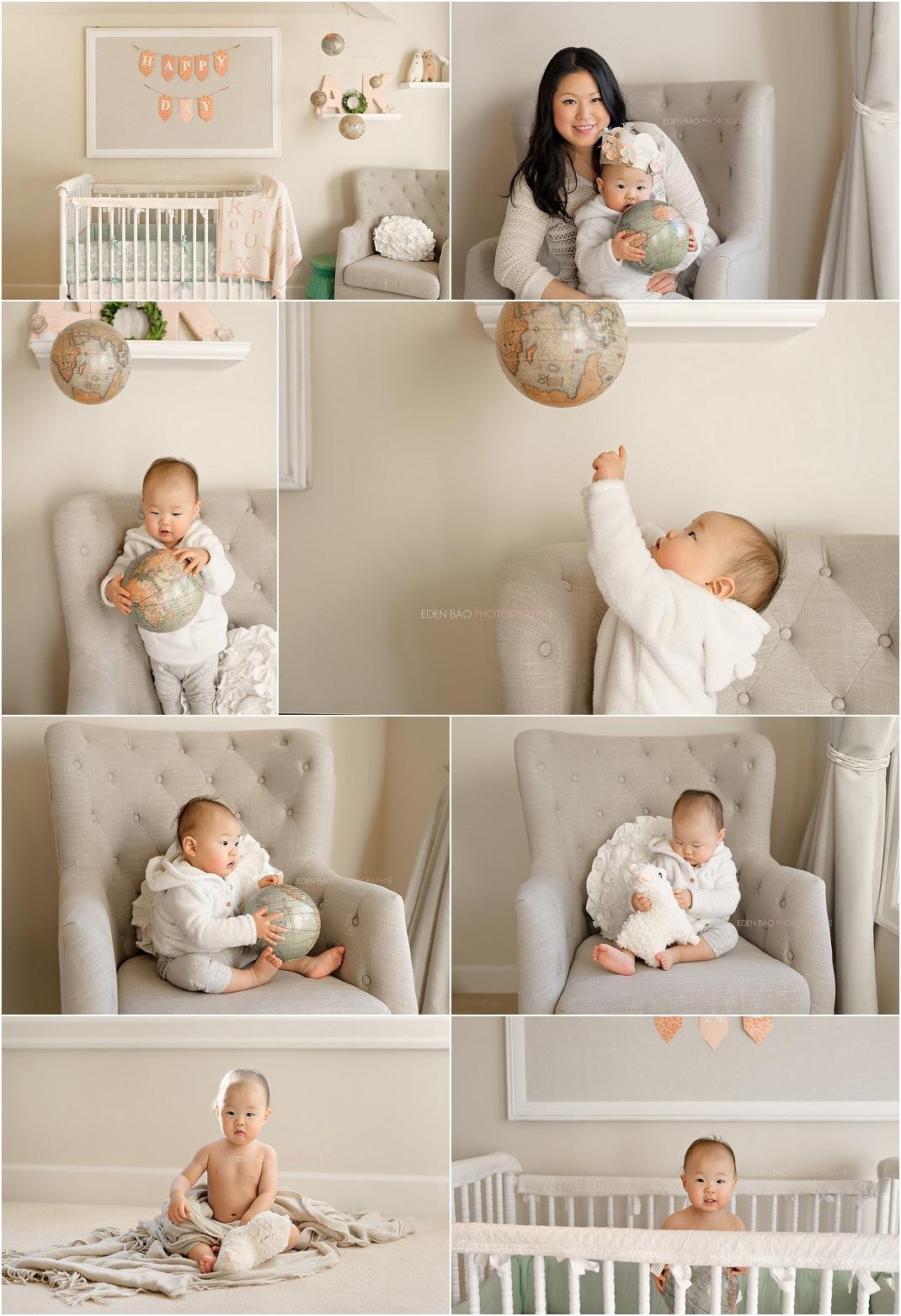 Kirkland baby photographer nursery