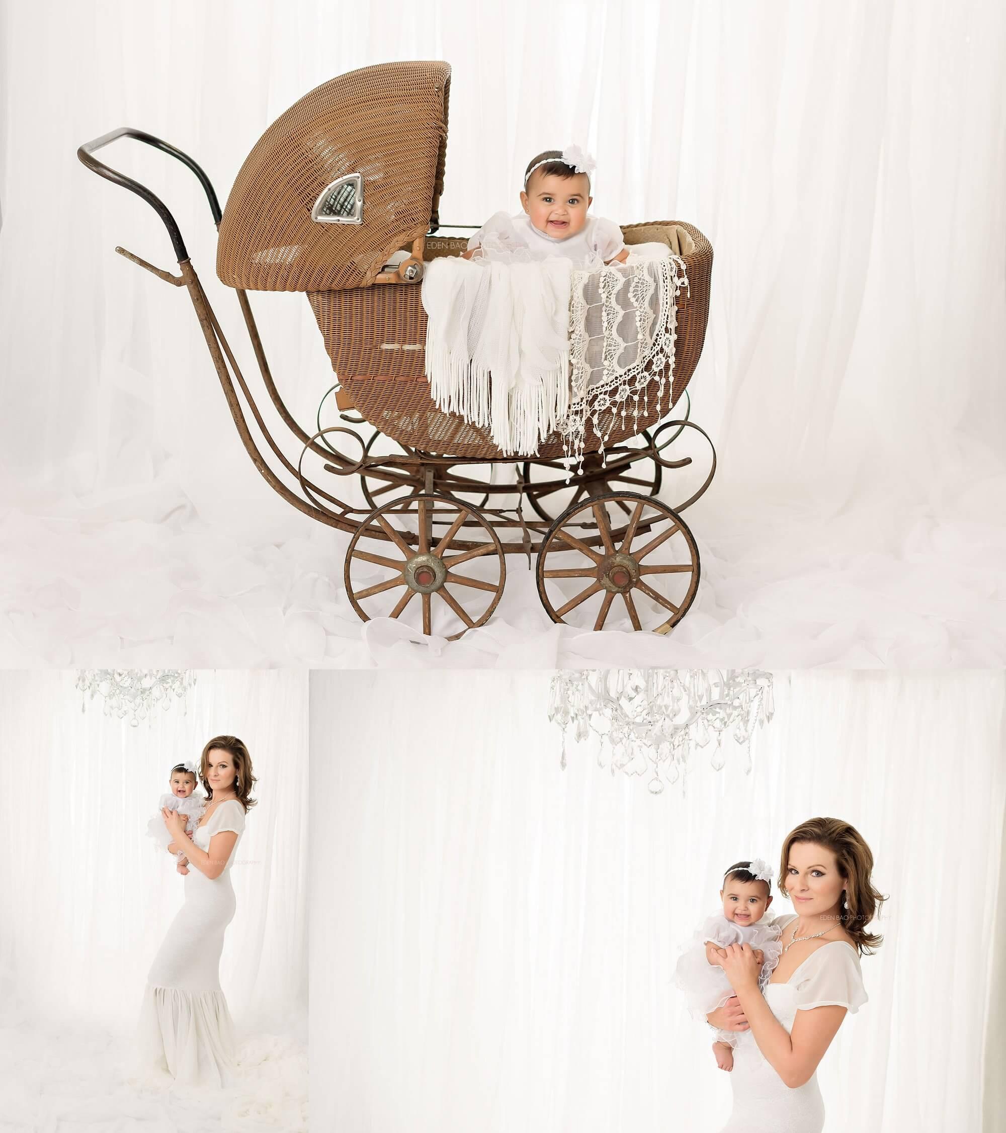 Mercer Island Baby Photographer Suri carriage