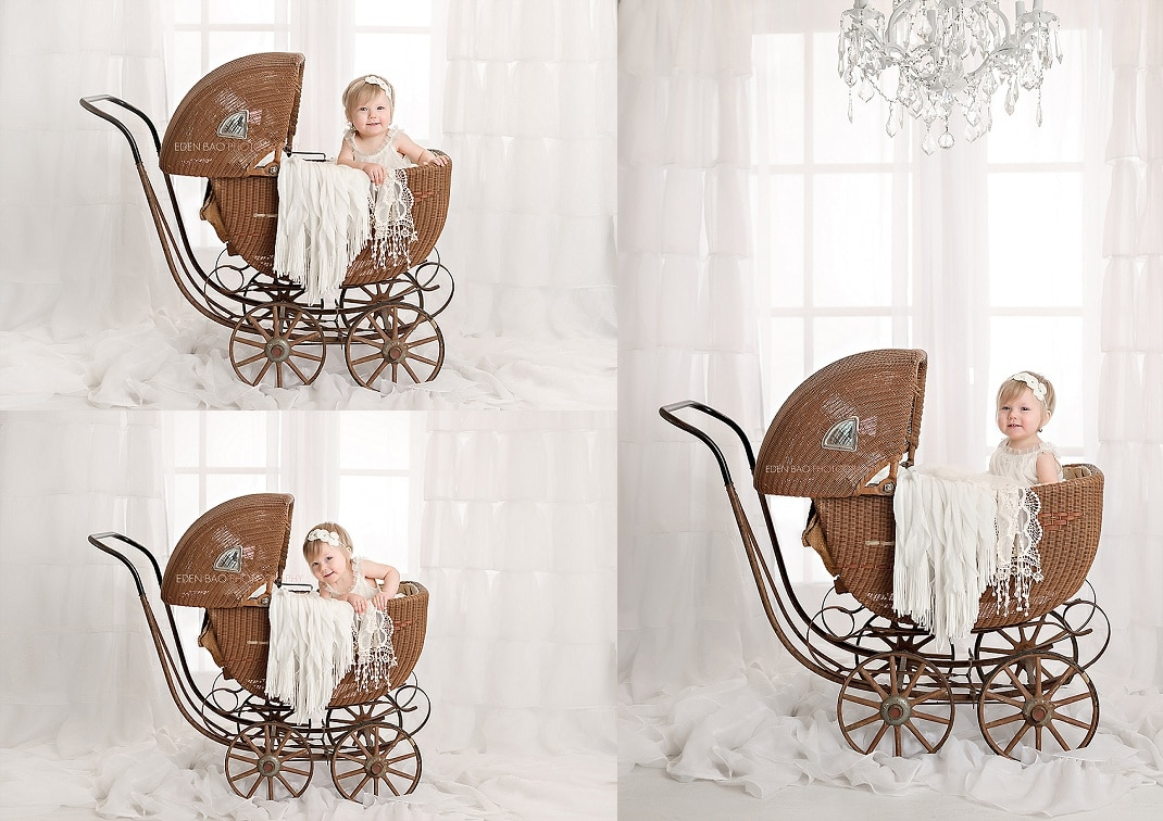 everett-baby-photographer-baby-in-vintage-dress-and-stroller