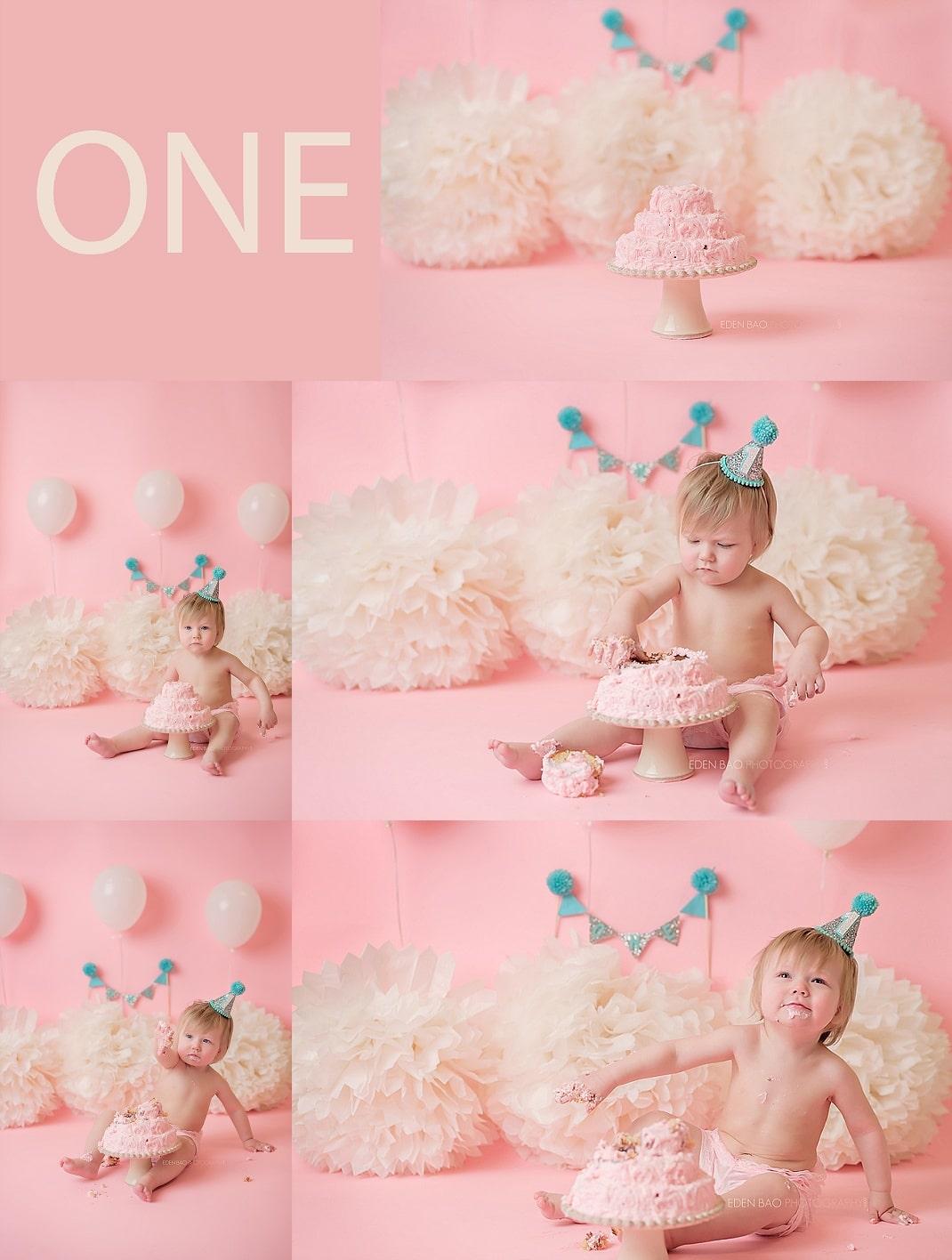 everett-cake-smash-photographer-baby-with-pink-cake